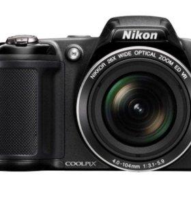 фотоаппарат nikon coolpix l320 black