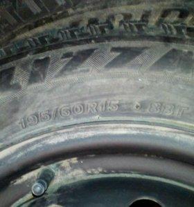 Bridgestone blizzak spike01 на штампах