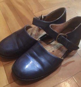 Туфли перламутровая кожа