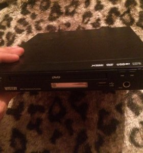 DVD плеер Mystery с разъёмом под флешку