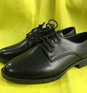 Ботинки Oxford all black