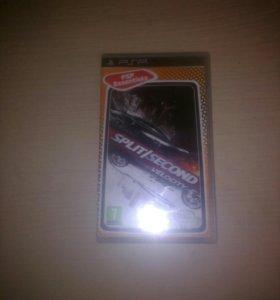 """PSP диск """"SPLIT/SECIND velociti"""""""