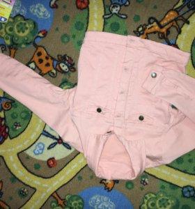 Укорочённая джинсовка бифри