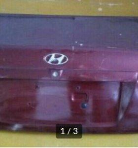 Крышка багажника Hyundai Elantra XD