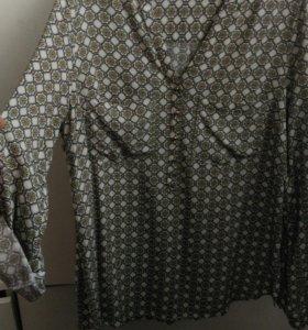 Блузки рубашка zolla