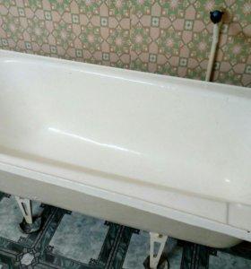 Ванна чугунная б/у 1500*70*55