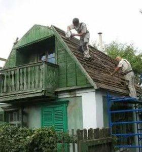 Демонтаж домов, строений, металлоконструкций