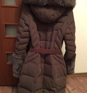 Женская зимняя куртка.Натуральный мех.