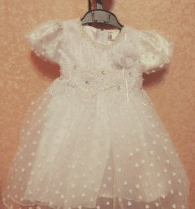 Новое платье на девочку 92 98