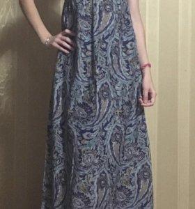 Платье в пол Манго