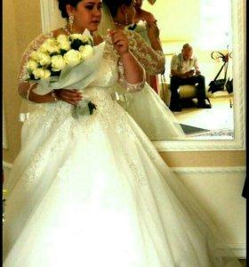 Свадебное платье 58 размер