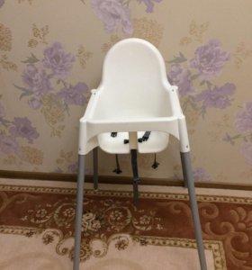 Детский стульчик на высоких ножках Икея