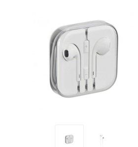 Наушники Apple EarPods with 3.5mm НОВЫЕ,оригинал