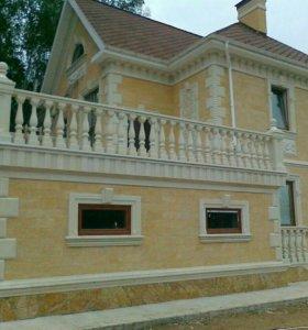 Отделка фасадов Дагестанским камнем