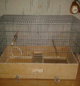 Клетка для среднего размера птиц
