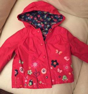 Куртка осенняя / весенняя babyGo 74р