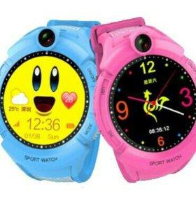 Умные детские часы Q610
