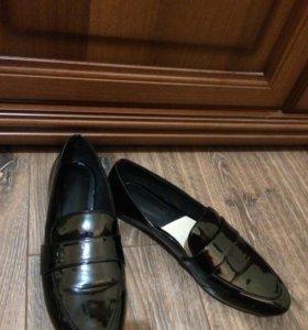 Лакированные туфли Mango 🌸