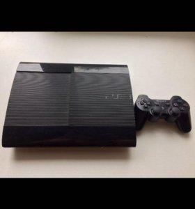 PS3 +(геймпад и 8 игр.)