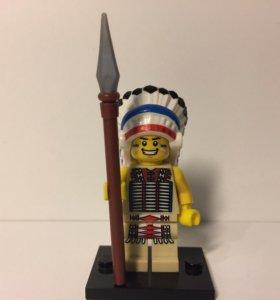LEGO minifigures 3-й выпуск Индейский вождь