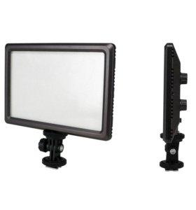 Светильник накамерный новый Luxpad 22 (112 LED)