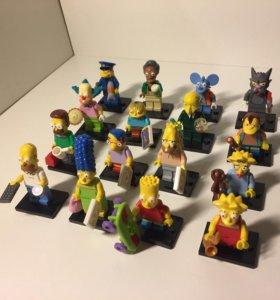 LEGO minifigures Симпсоны