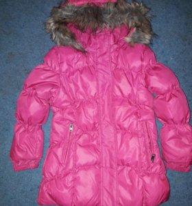 Куртка пальто пуховик 110