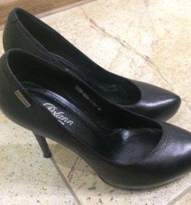 Туфли р.35 натуральная кожа