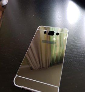 Зеркальный чехол Samsung j7 (2016)