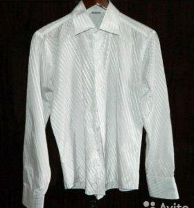 мужскую рубашку белая