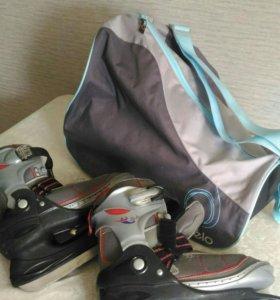 Коньки+ сумка