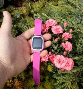 Умные часы smart baby watch с GPS Q90, оригинал