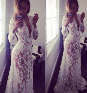 Новое будуарное платье