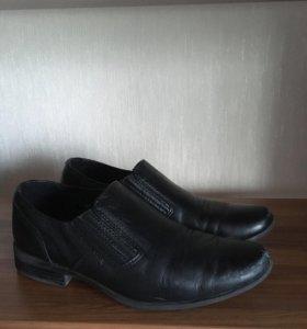 Туфли кожаные юничел 22 см