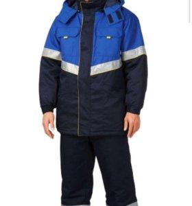 Спецодежда, Куртка, брюки, жилет, новый