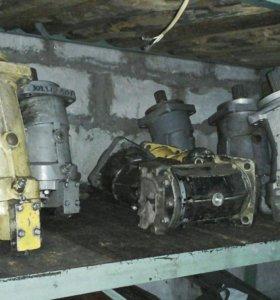 Гидро-насос, мотор аксиально-поршневые
