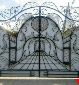 ЗD Ворота