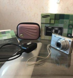 Цифровой фотоаппарат Samsung PL210 (серебристый)