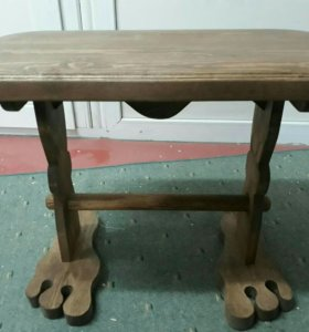 Журнальный столик с табуретками