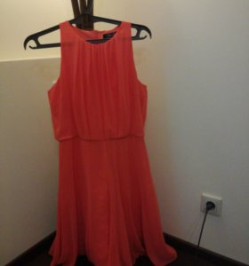 Платье шифон с подкладом