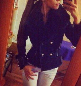 Куртка с мехом (полупальто)