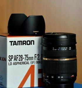 Tamron 28-75 f 2.8 для Nikon