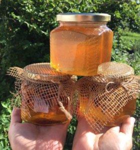 Мёд цветочный башкирский, 3л