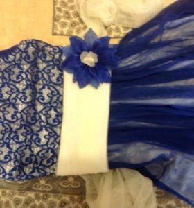 Нарядное бальное платье для девочки