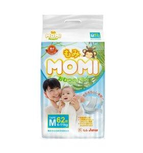 Подгузники Momi M (6-11кг)