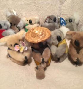 Мягкая игрушка коала 17 шт