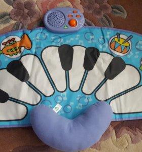 Детский коврик пианино Барабан ELC