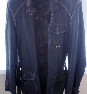 Кожаная куртка (полупальто)