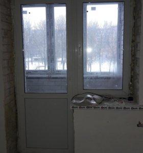 Стклопакеты: 2 оконных и 2 балконных проема