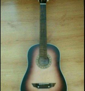 Гитара + чехол СРОЧНО
